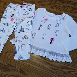 The Children's Place Baby Girl 2-piece Outfit NWT